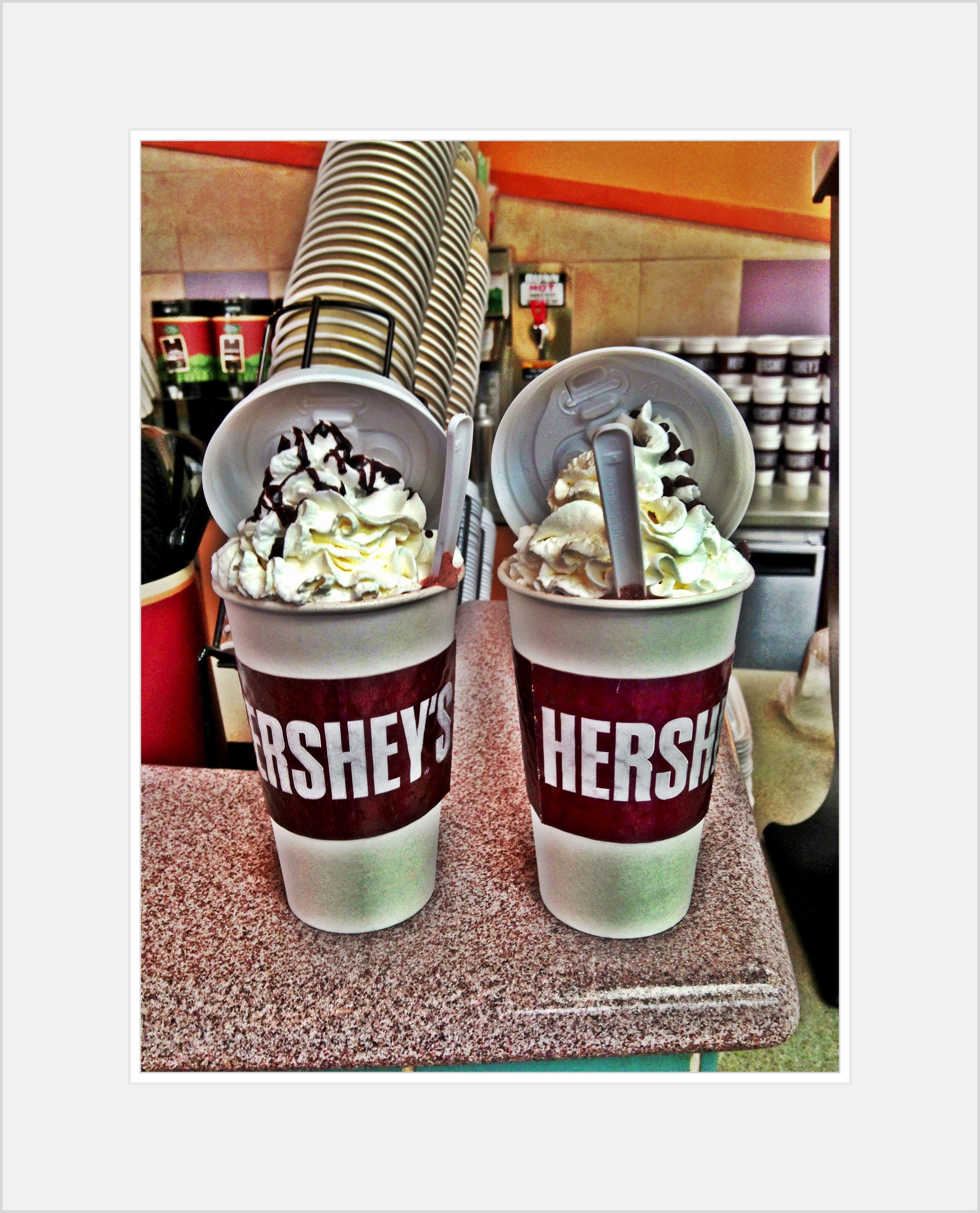 Oh yes! Original Hershey's hot chocolate made at Hershey's ...