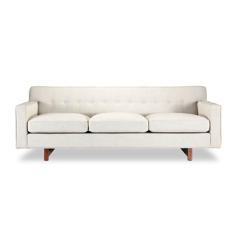 Kennedy Mid Century Modern Classic Sofa