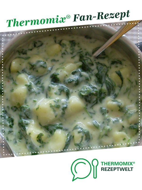Photo of Cream potatoes with spinach