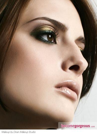 Gold & green eyes