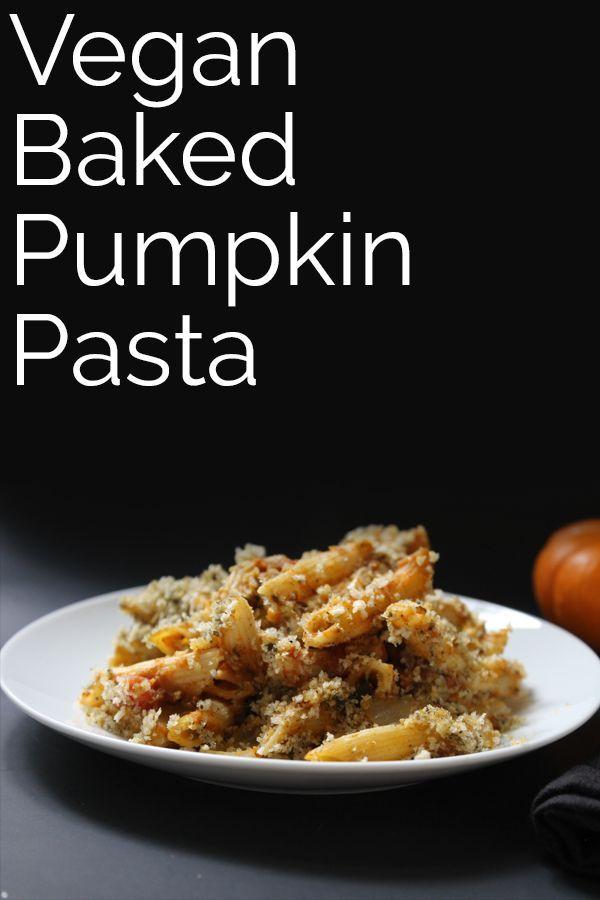 Fall Pasta Dinner: Baked Pumpkin Pasta