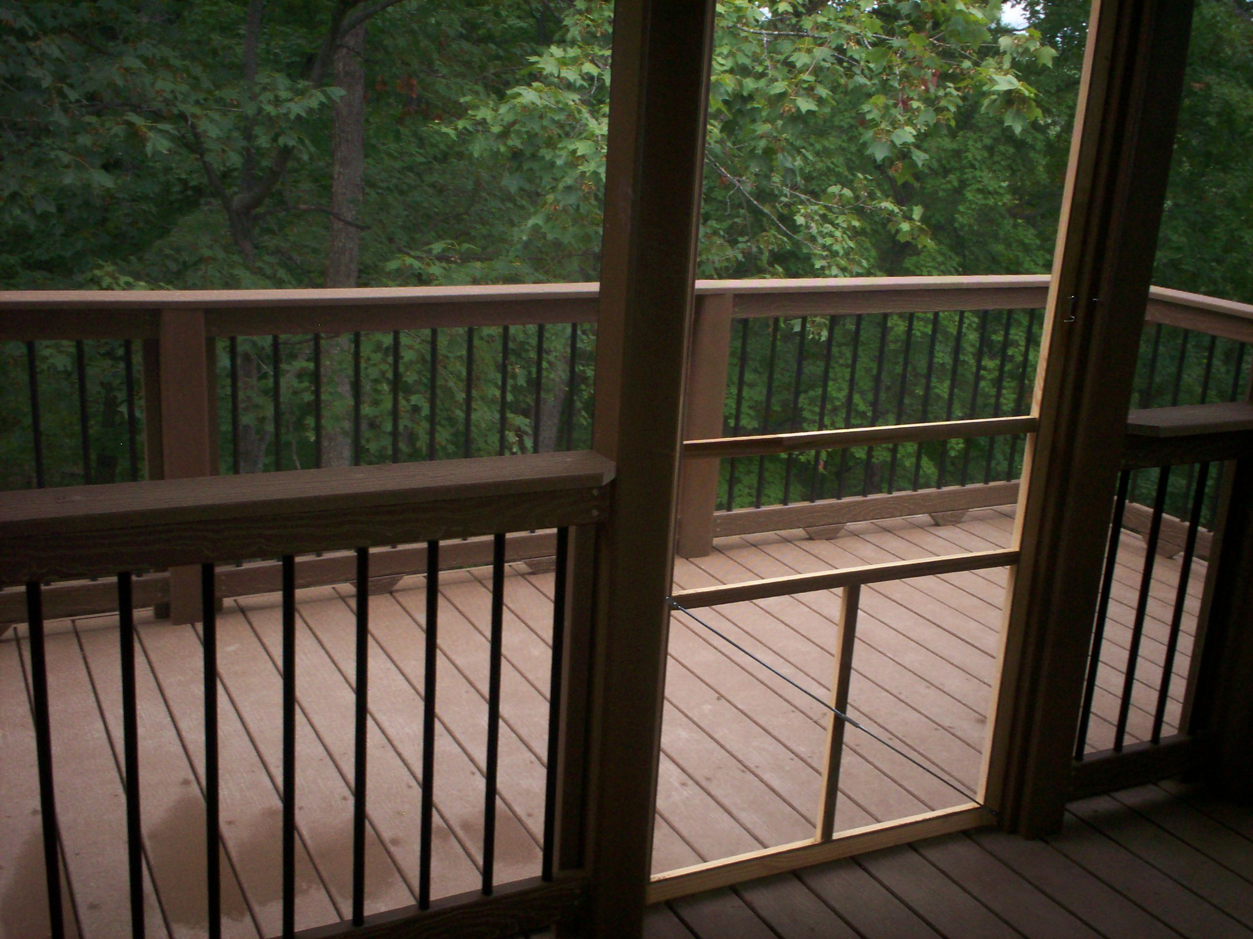 louis gallery archadeck of county for rails vinyl porch west balusters caps screen ideas st by post deck and railing pin with basket mo photo screened