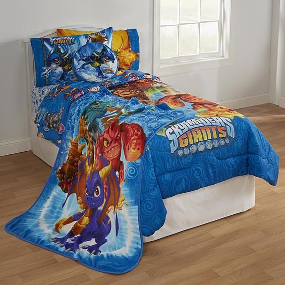 Skylanders Giants Bedding Collection Bed Bath Decorative