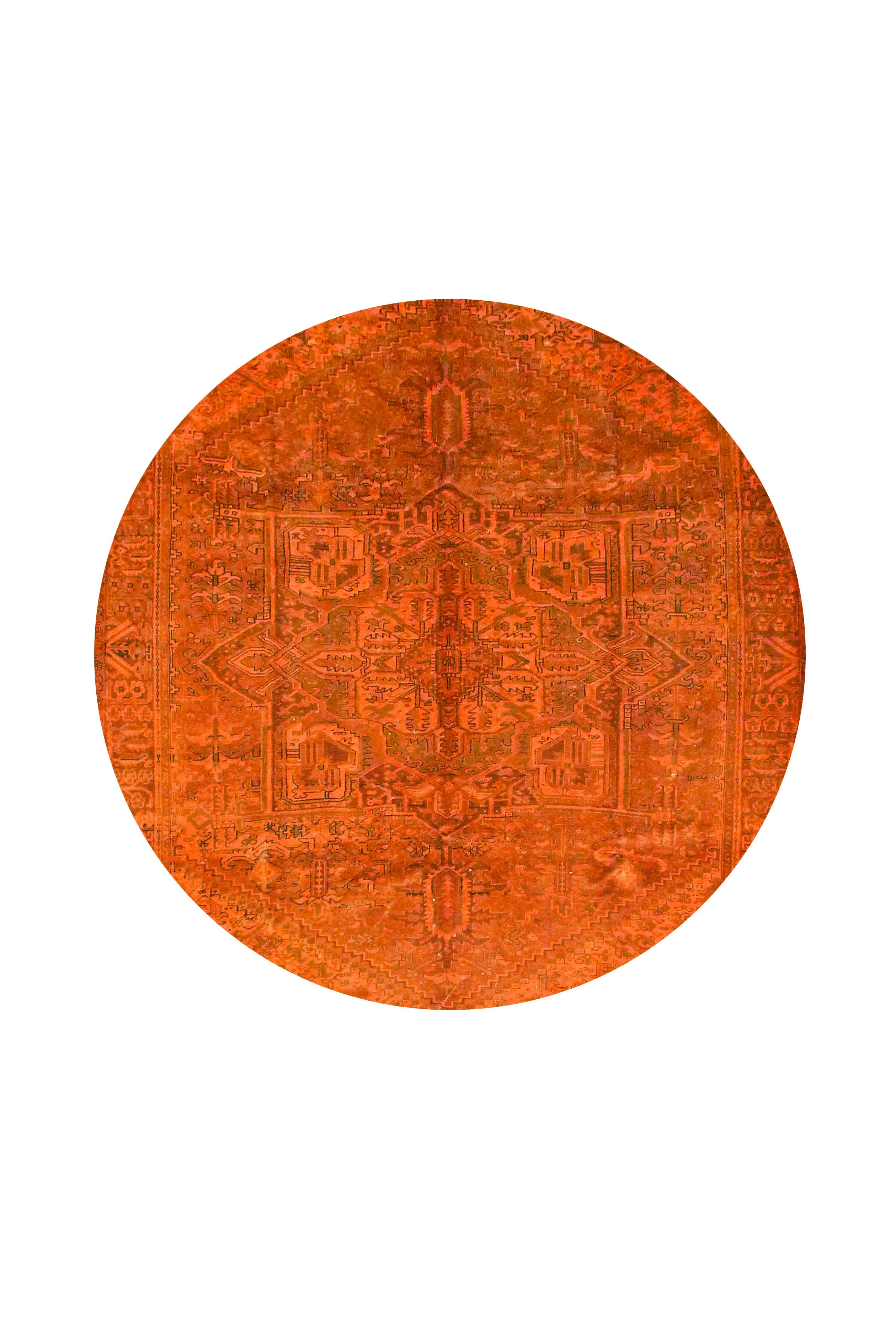 Orange Er Teppich By Kiskan Process Hamburg
