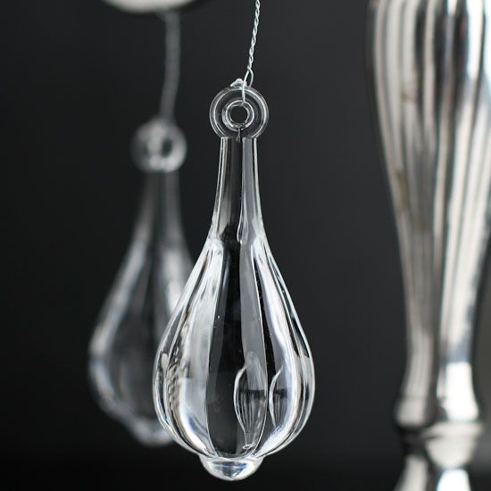 Acrylic chandelier crystal charms pinterest chandeliers clear acrylic chandelier crystal charms mozeypictures Gallery