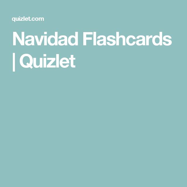 Navidad Flashcards | Quizlet | clases | Pinterest | Navidad