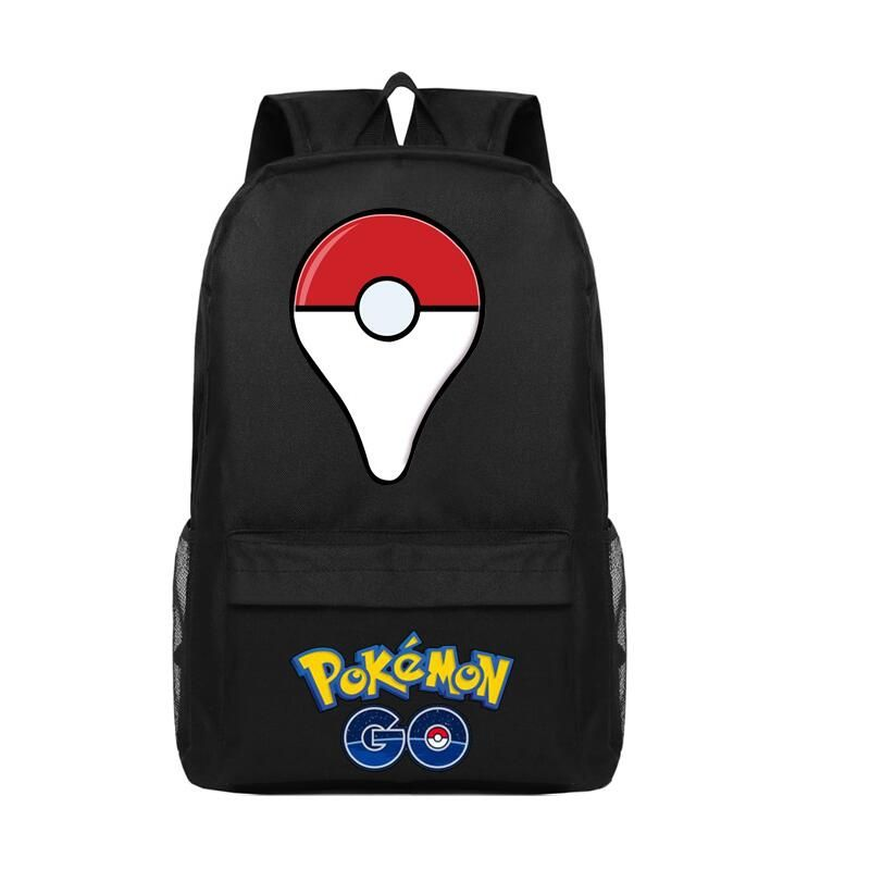 Animation Pokemon Go Canvas Backpack For Boys Girls High Quality Fashion School  Bag Large Casual Travel b67ff75fb3e89