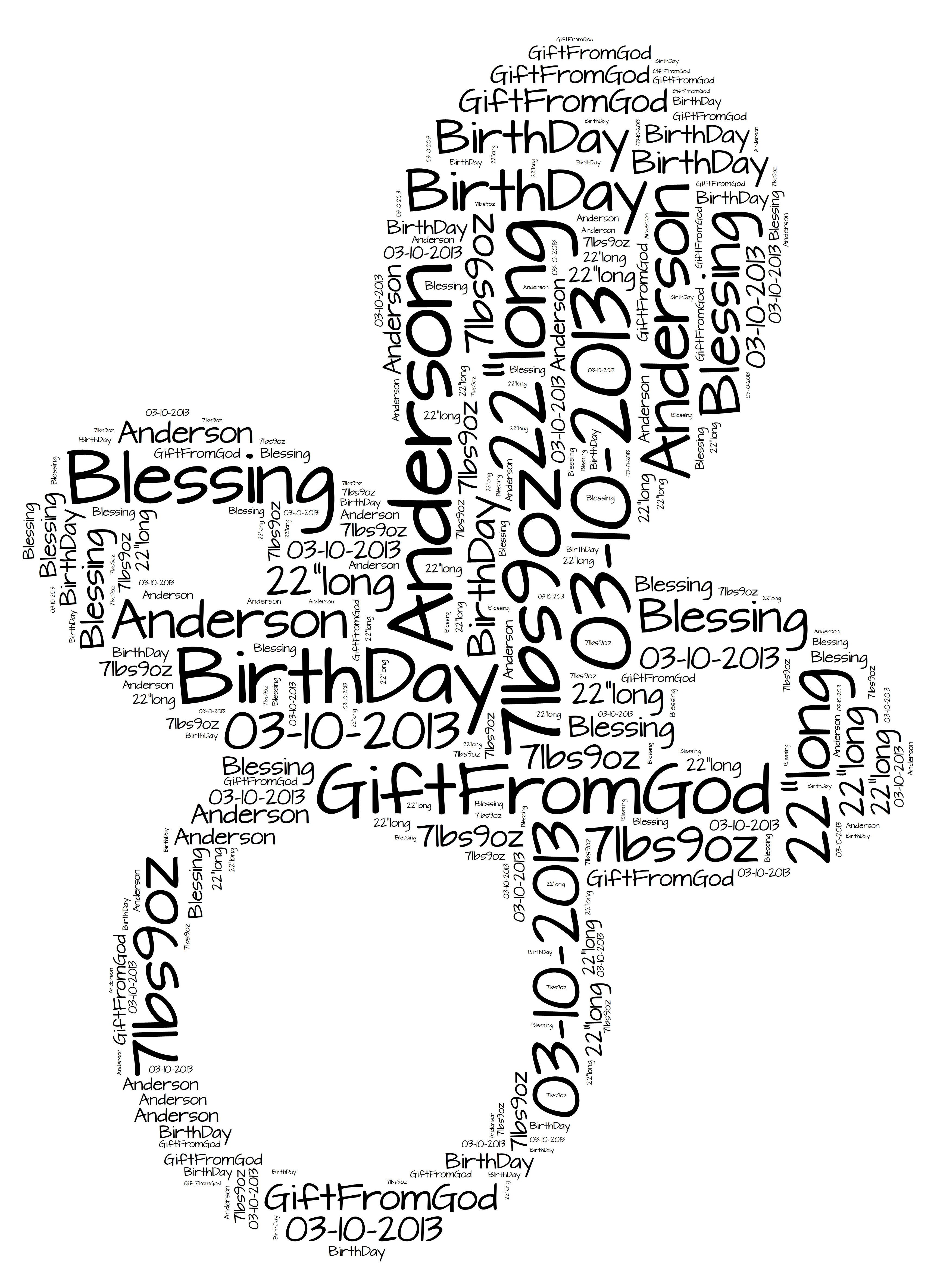 Pacifier word art digital file 20 personalized art for the new pacifier word art digital file 20 personalized art for the new babys room just print frame and hang digital files are sent the same day negle Image collections