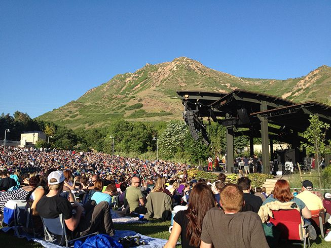 Red Butte Garden Amphitheater Images