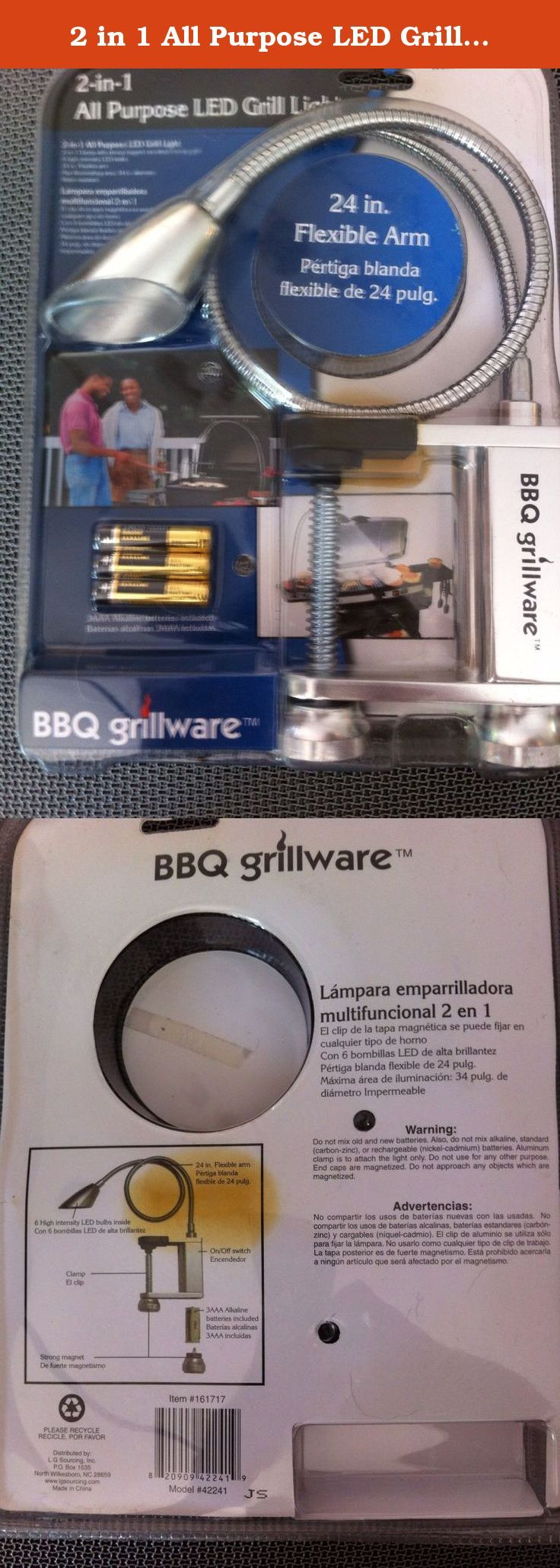 2 In 1 All Purpose Led Grill Light Bbq Grillware Light Grill