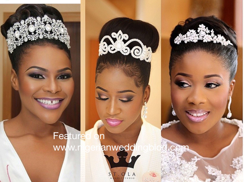 50 Wedding Hairstyles For Nigerian Brides And Black: Nigerian Wedding Presents Regal & Unique Tiaras & Headband