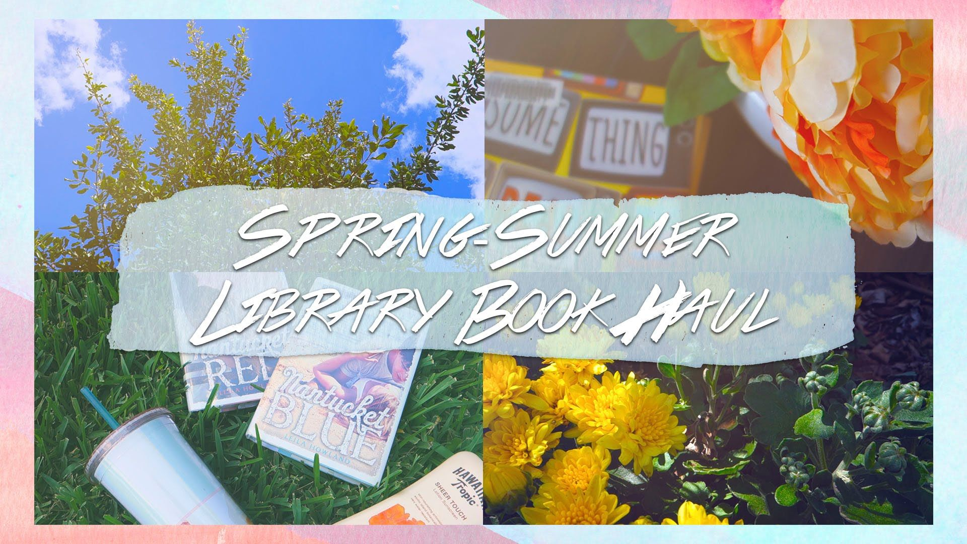 Spring-Summer Library Book Haul | OfficiallyPhoebsTV