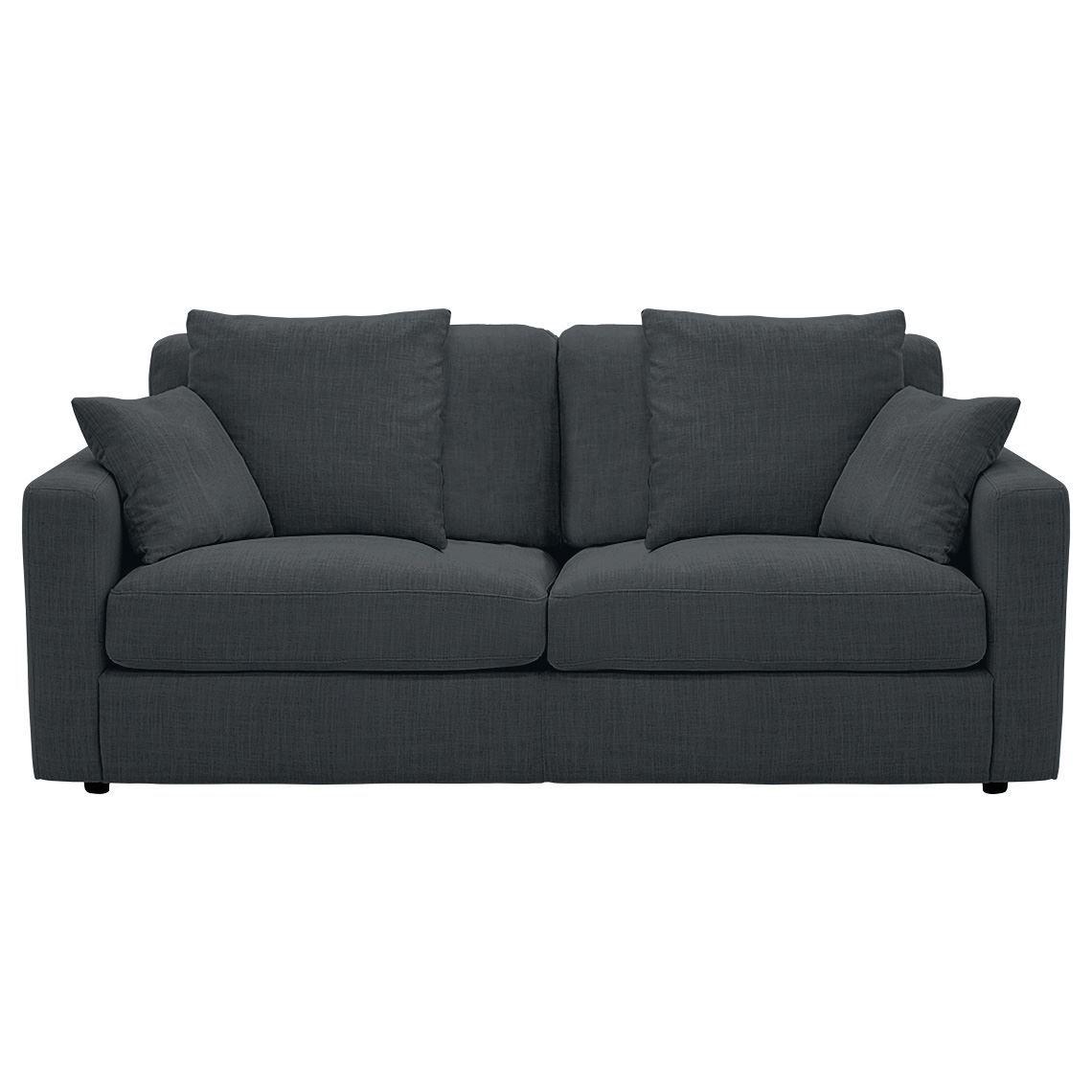 Benson 2 5 Seat Fabric Sofa Coal Fabric Sofa Sofa Seating