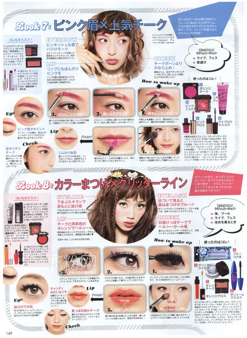 fbe7f947b9d7 Makeup Tutorial   From: ViVi Magazine Sep' 2014   MAKEUP § HAIR ...