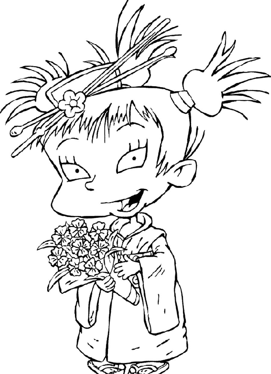 Beautiful Rugrats Characters Coloring Pages Contemporary - New ...