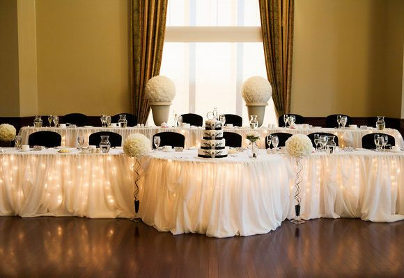 Head Table Decor Idea Help: Wedding Reception Decor Ideas