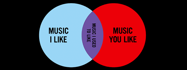 Musical Elitism Venn Diagram Shirt Music I Used To Like Funny