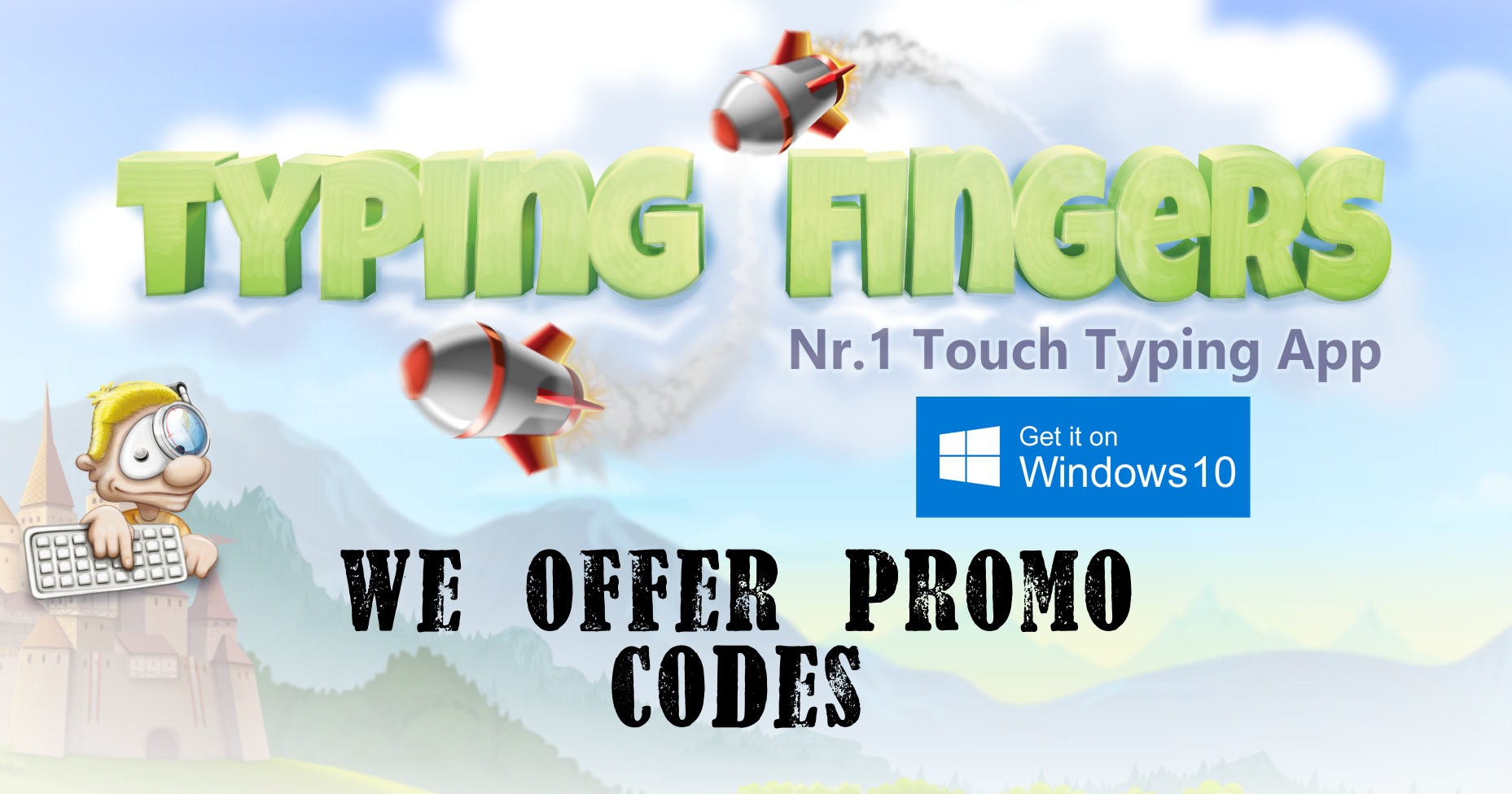 Download 10 Promo codes free on Typing Apps! Hurry! Gear