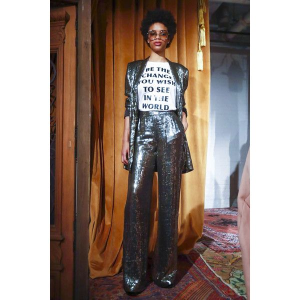 Alice Olivia Ready To Wear Fall Winter 2017 New York featuring and polyvore,
