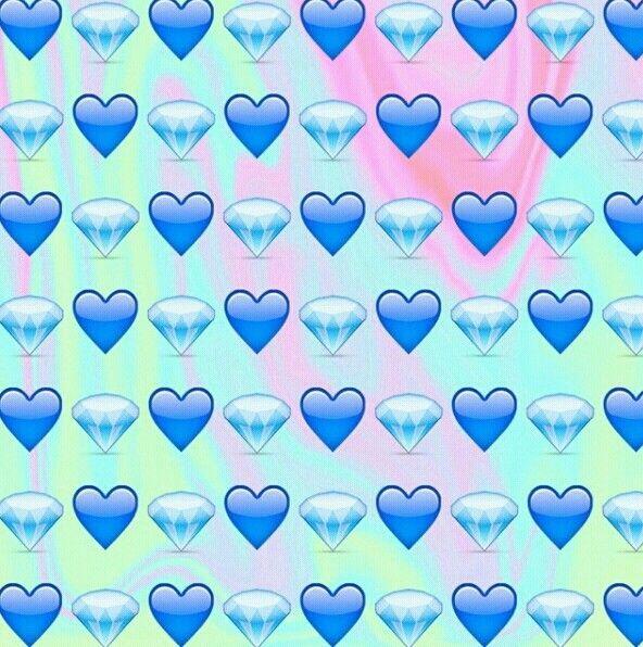 Heart Emojis Background