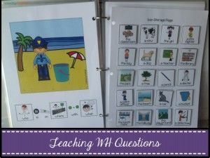 Speechy Musings: Teaching WH Questions. Pinned by SOS Inc. Resources @so siu ki Inc. Resources.