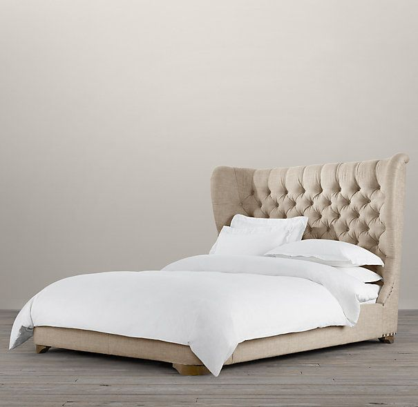 Gotta have it! Churchill Upholstered Framed Bed | Upholstered Beds ...
