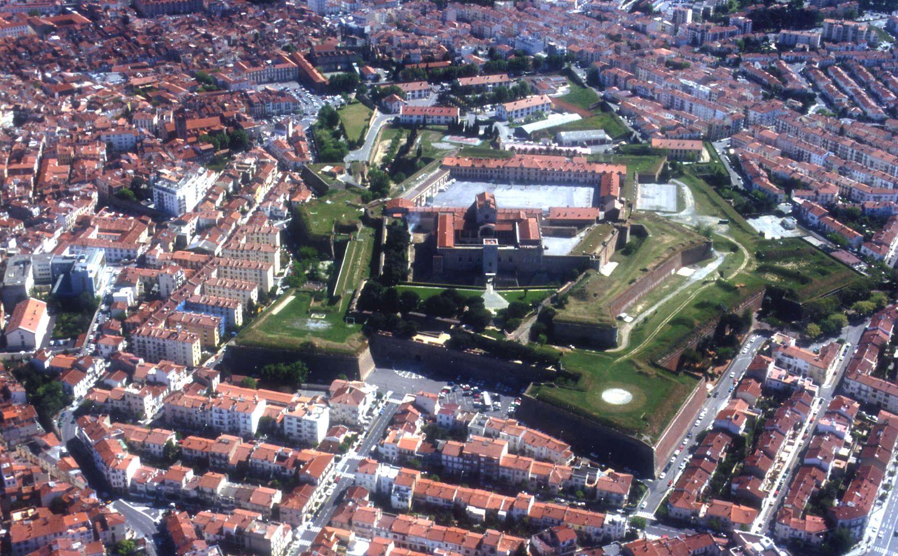 Fortifications et citadelle de Bayonne