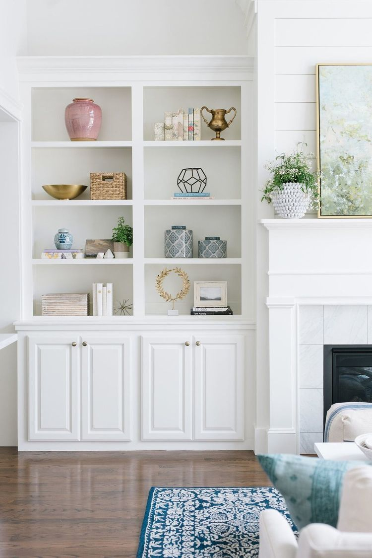How To Design Around a Focal Point (STUDIO MCGEE) | Shelving, Living ...