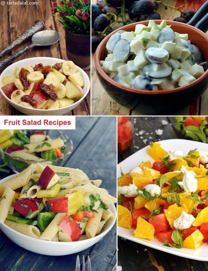 120 Indian Fruit Salad Recipes, Veg Fruit Salad Recipes ...