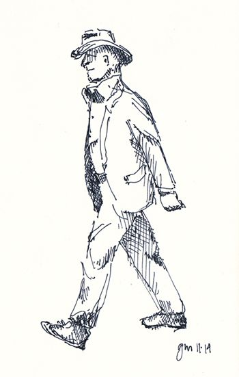 George Mellen - pen