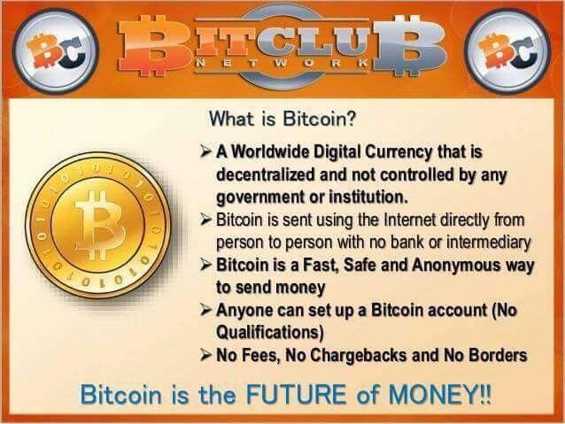 Bitcoin network club log in