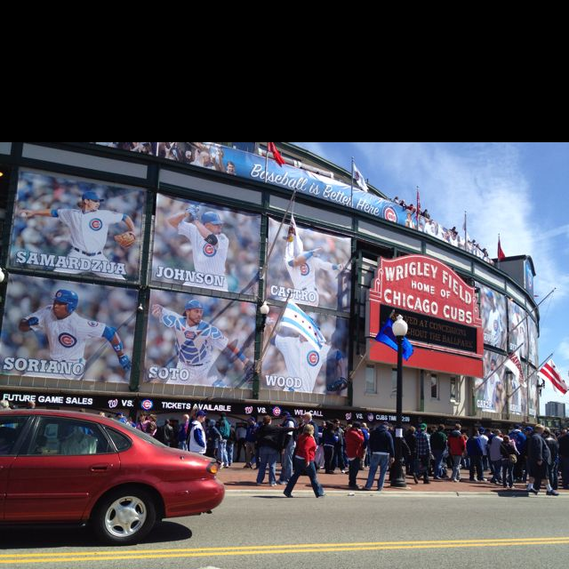 Opening Day 2012 at Wrigley Field