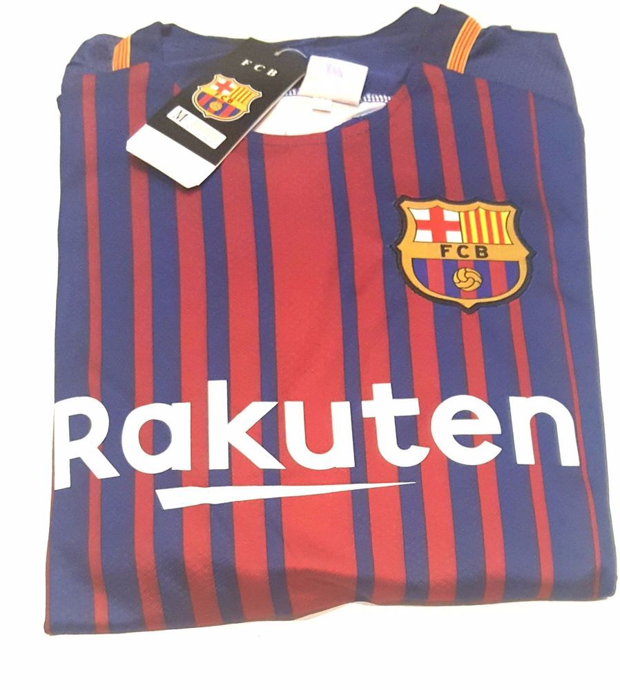 eb2995f6b FCB Barcelona Rakuten t-shirts + Shorts set Sports with Logo M L XL Beko  Laliga  RJCSports  RealMadridflyemirates