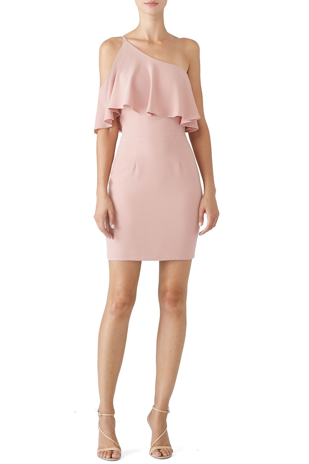 f79fd10cb96aa Rent Rose Petal Sabrina Dress by Dress The Population for $30 only at Rent  the Runway.
