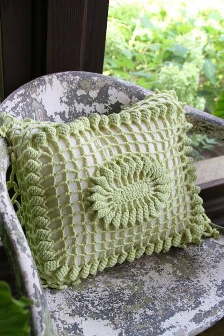 Pin von Rosi Balle auf Crochet: Cojines y Almohadas | Pinterest