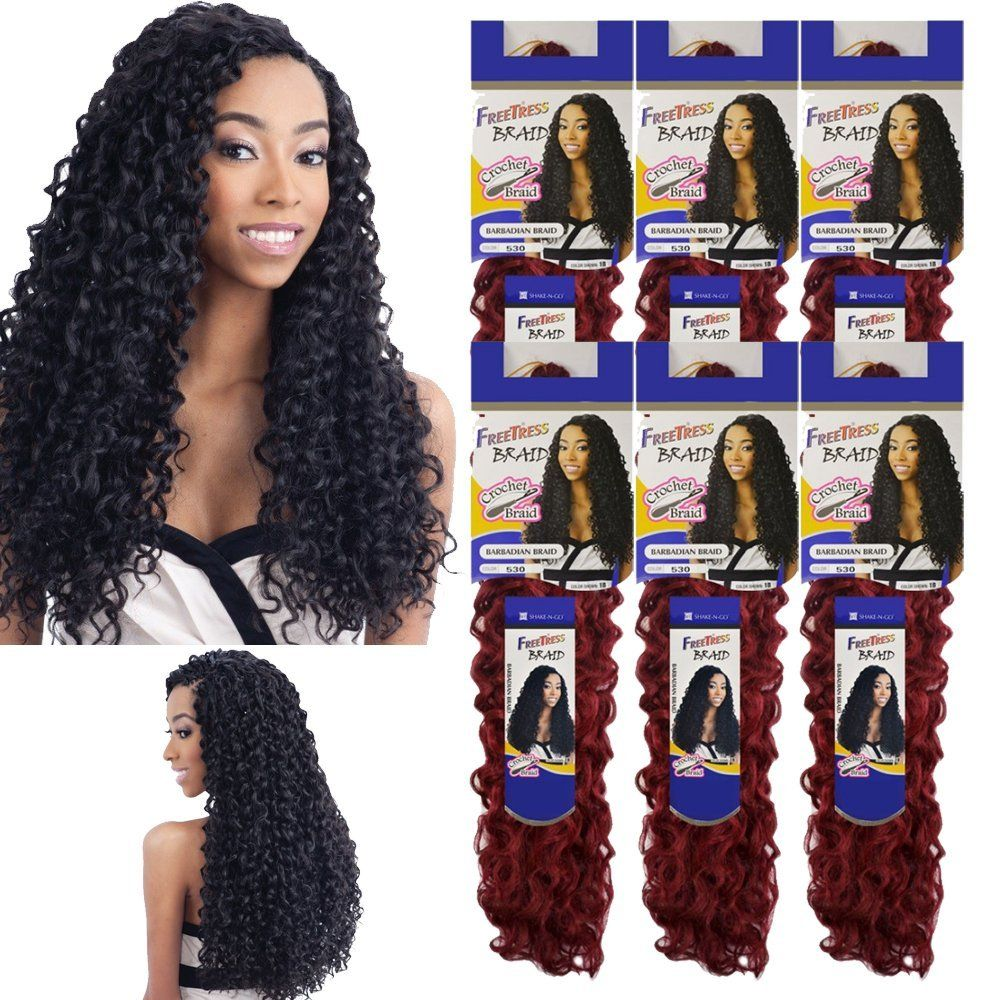 Barbadian Braid Crochet Freetress Bulk Synthetic Braiding Hair Shake