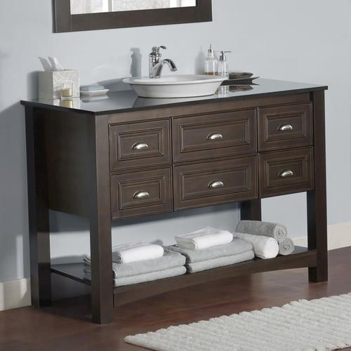 "Normal Master Bathroom Size: 48"" Chelsea Collection Vanity Base At Menards"