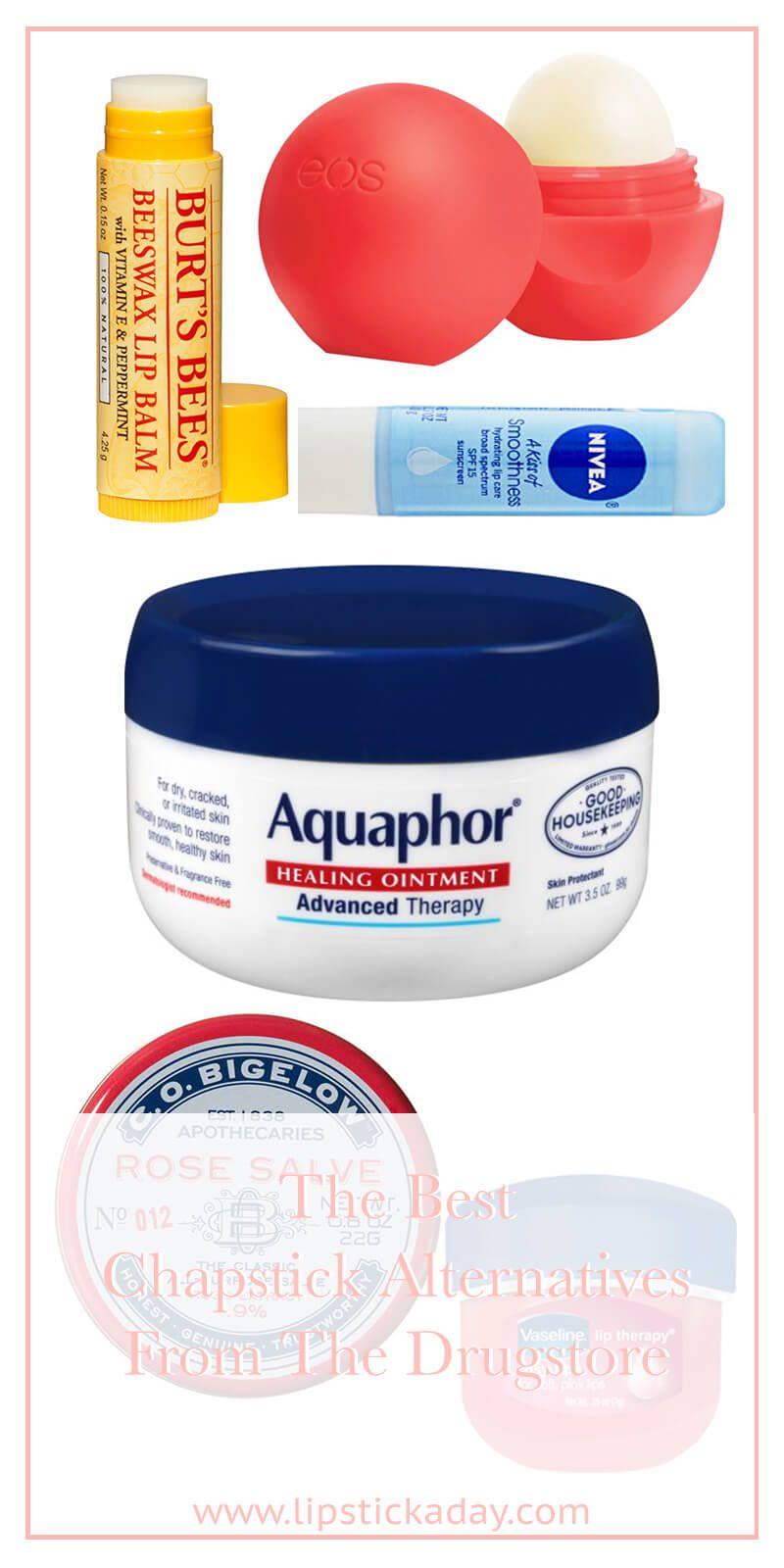 Best Chapstick Alternative You Can Find In The Drugstore With