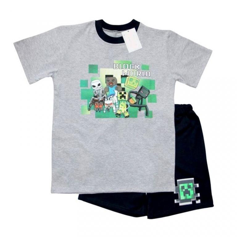 Pizama Dla Milosnikow Minecraft Pl 134 5502339182 Oficjalne Archiwum Allegro Mens Tops Mens Tshirts Mens Graphic Tshirt