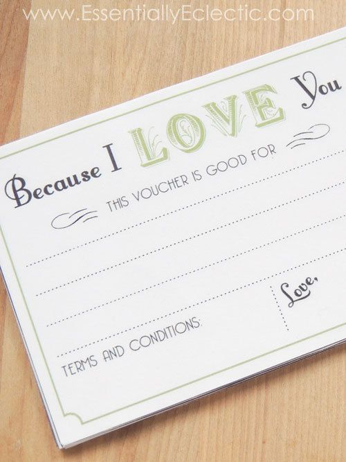 love coupon book printable diy gift valentines day gift mothers day gift fathers day gift birthday gift anniversary gift husband gift