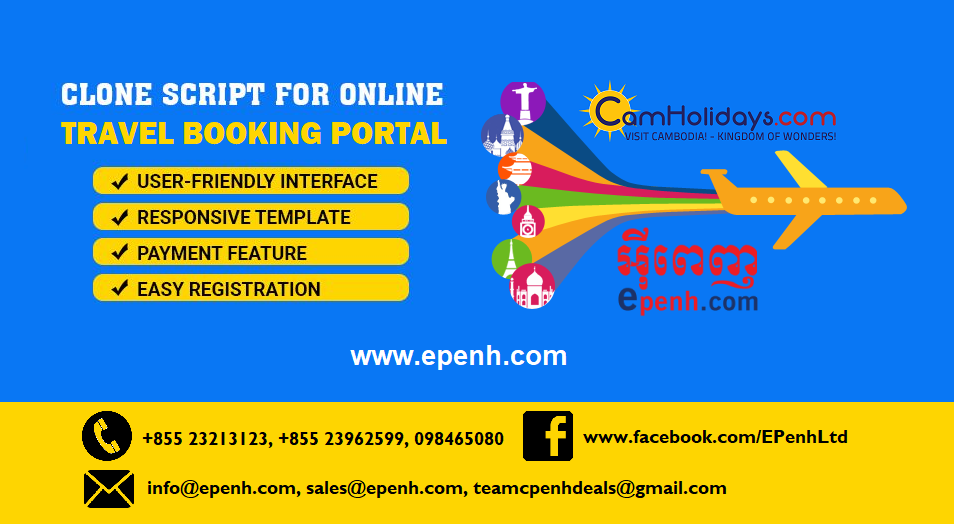 Epenh's Camholidays is the Best PHP Booking Script