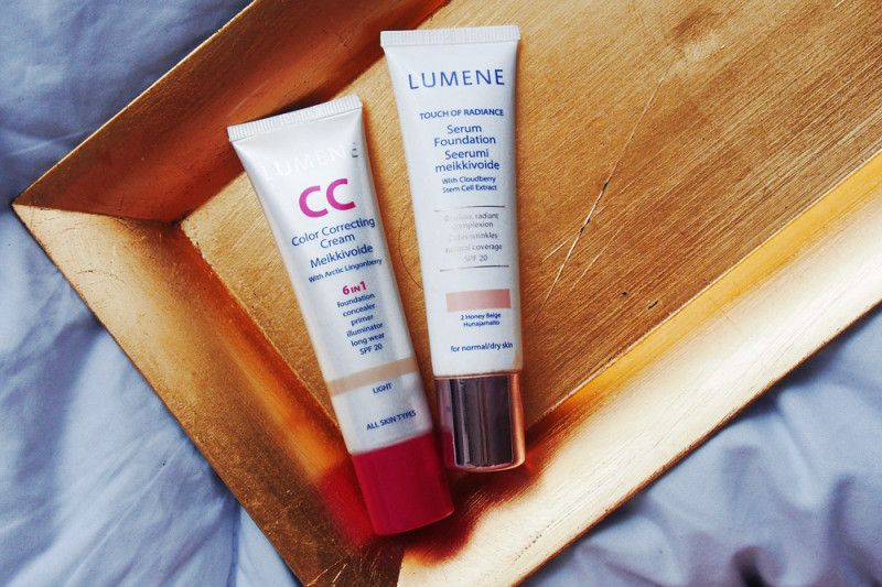 Blogger Joanna sharing her secrets to beautiful summer skin. #CC #lumene