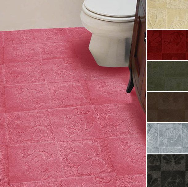 Tufted Wall To Wall Bathroom Carpet With Images Plush Carpet
