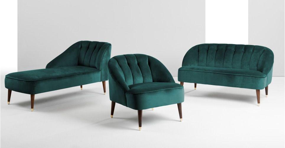 MADE Sofa, Blaugrün
