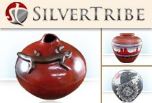 Hand Crafted Pottery from SILVERTRIBE.COM makes a beautiful addition to the decor in your home!