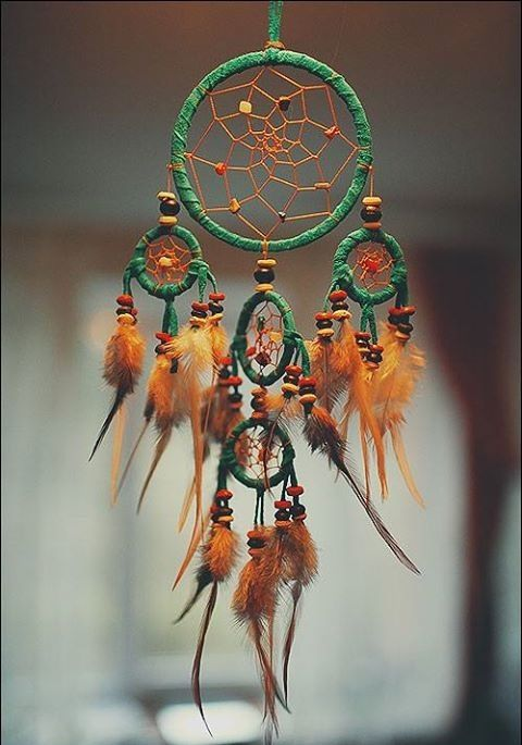 Pretty Details The Greenbrown Combination Works Too Dream Stunning Dream Catcher Works