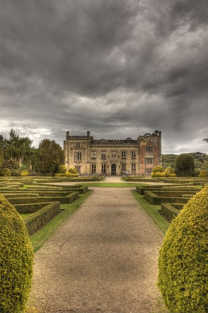 Elvaston Castle, Derbyshire, England. My Lancashire ancestors worked here, buried in church