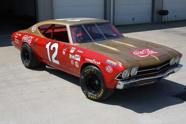 Richard Petty Mustang >> Bobby Allison Chevelle | Chevy baby | Nascar cars, 69