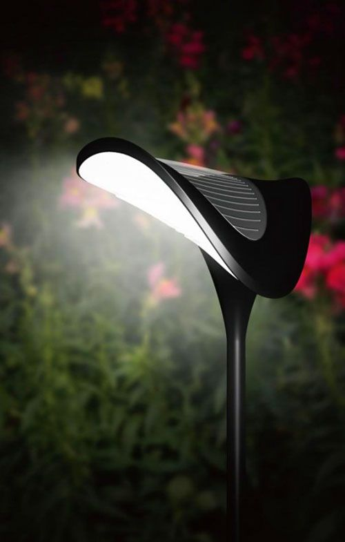 4 Piece Solar Powered Garden Lights Set Available in a pack of 1