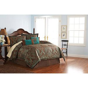 Better homes and gardens paisley jacquard comforter set in - Better homes and gardens comforter sets ...